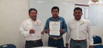 Firma de convenio de colaboracion con ADR TLACOAPA