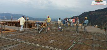 Avances en la construcción de la Residencia Universitaria del Varón Indígena