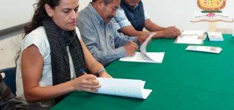 Firma de convenio de colaboración con la AC Cooperación Comunitaria