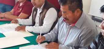 Firma de convenio de colaboración con la ADR ACODES MONTAÑA IXEE RIDII S.C.