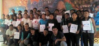 """La Cruz Roja imparte el curso-taller """"6 acciones para salvar una vida"""""""