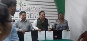 Firma de convenio de colaboración con la CONAFOR