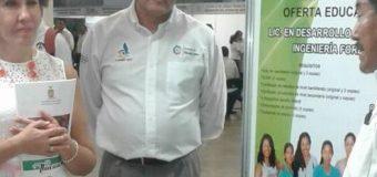 Jueves 26 de abril de 2018. La Universidad Intercultural del Estado de Guerrero presente en la 1ra. Feria Educativa organizada por la Subsecretaría de Educación del Estado, en el puerto de Acapulco
