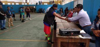 La UIEG participa organizando los eventos deportivos de basquetbol y voleibol en los festejos patronales de la comunidad de la Ciénega.