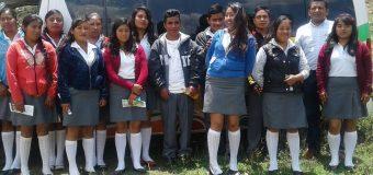 El plantel EMSAD 026 de la comunidad de Coatzoquitengo, Mpio. de Malinaltepec visita las instalaciones de la nuestra Universidad de la sede de la Ciénega.