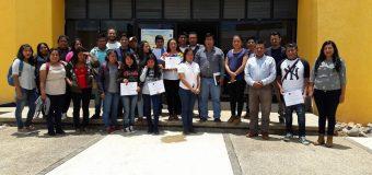 Clausura del curso-taller ecotecnias impartido por Cooperacion Comunitaria A.C.