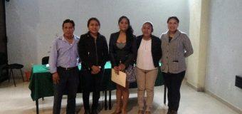 Protocolo de titulación de la alumna Gabriela Mozo Ocegueda, de la licenciatura en Turismo Alternativo
